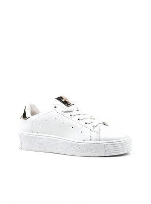 Spor Ayakkabı - Beyaz Altın - Letoon Ürün Resmi