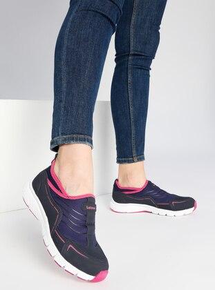 Spor Ayakkabı - Lacivert Fuşya - Letoon Ürün Resmi