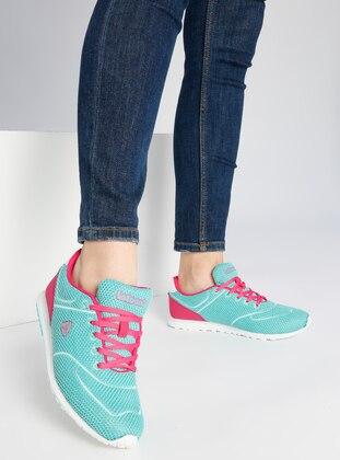 Spor Ayakkabı- Su Yeşili - Letoon Ürün Resmi