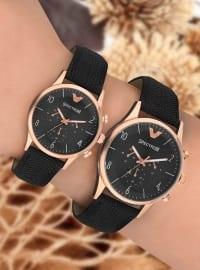 İkili Saat Set - Siyah - Spectrum