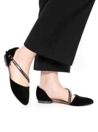 Ayakkabı - Siyah Süet - Kuum