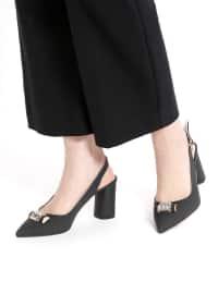 Topuklu Ayakkabı - Siyah - Kuum