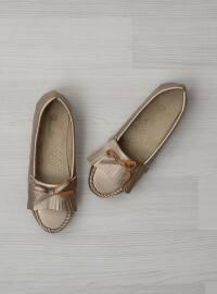 Ayakkabı - Altın - Bambi