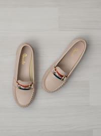 Ayakkabı - Pudra - Bambi