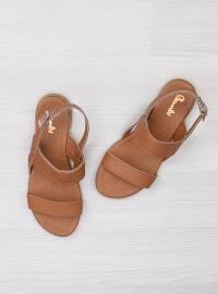 Sandalet - Taba - Bambi