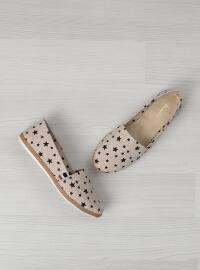 Spor Ayakkabı - Bej - Bambi