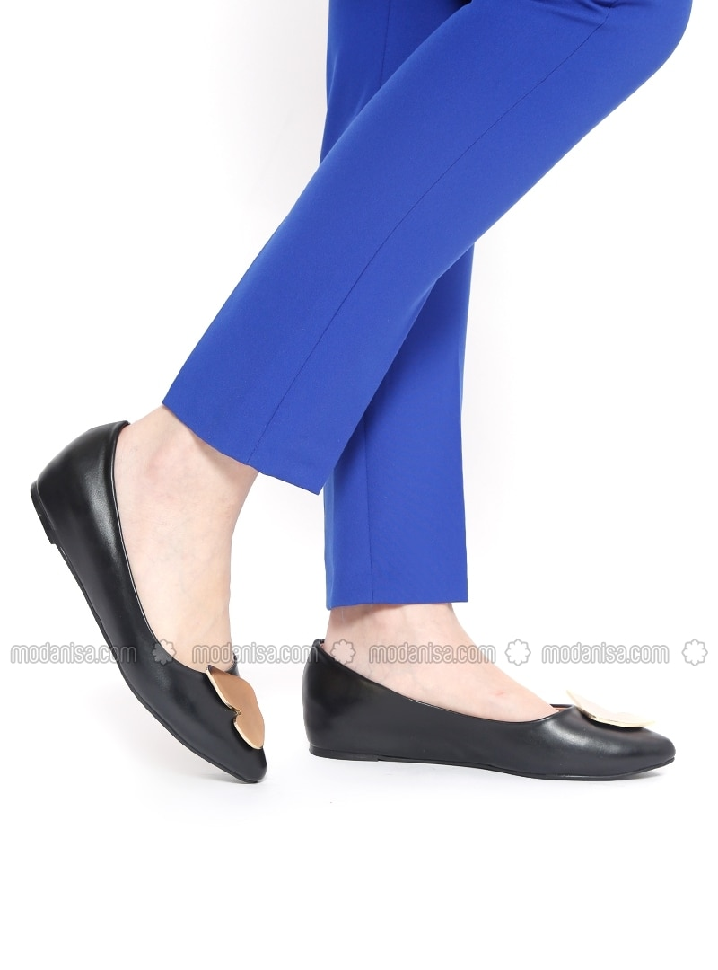 Black Flat Shoes Flatshoes