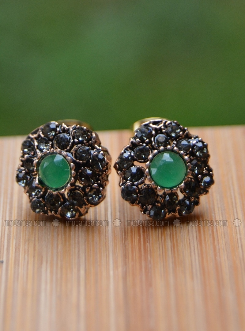 Green - Earring
