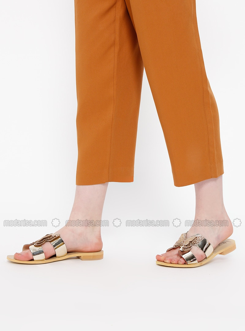 Golden tone - Sandal - Slippers