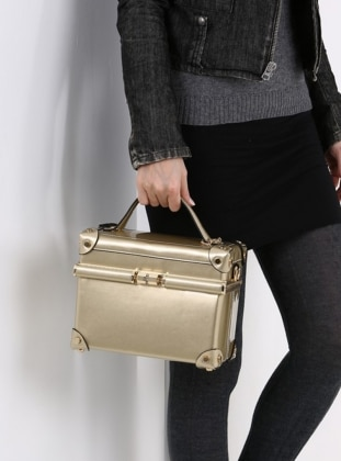 Golden tone - Satchel - Bag