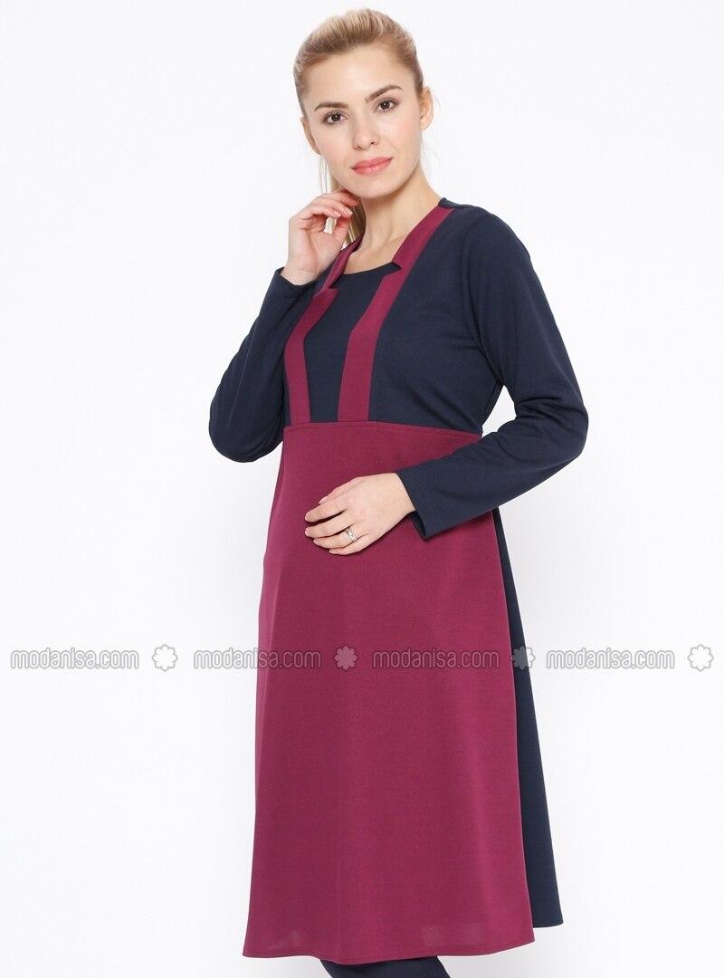Purple Maternity Tunic