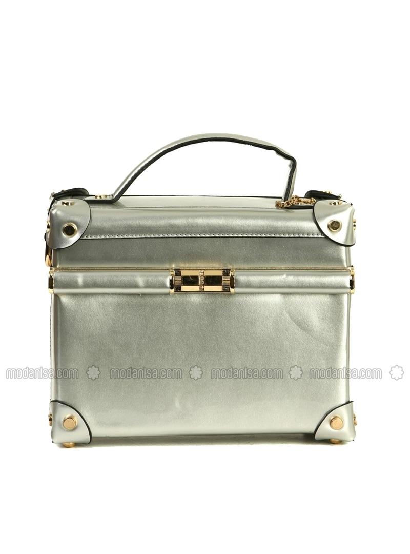 Gray - Satchel - Bag