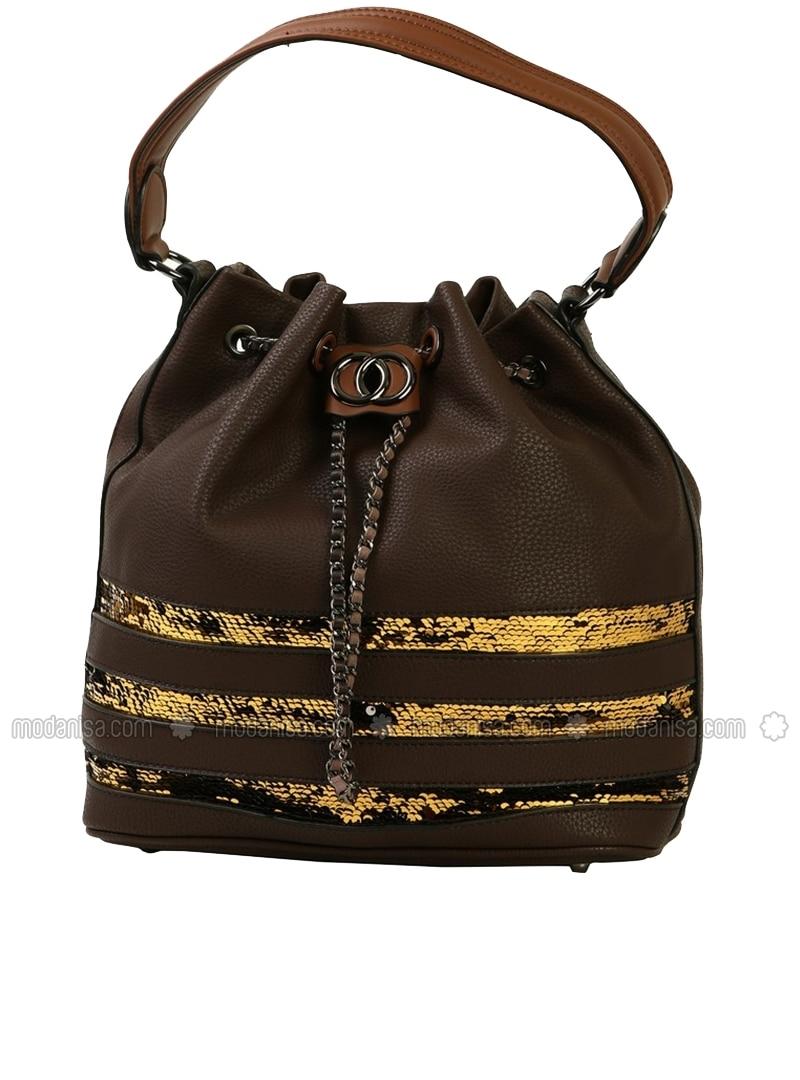 Brown - Satchel - Bag