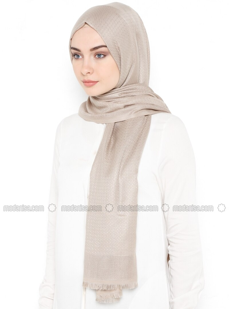 Minc - Plain - Cotton - Shawl