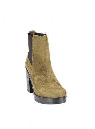 Khaki - Boot - Shoes