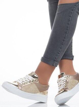 Spor Ayakkabı - Gold - Ayakkabı Havuzu Ürün Resmi