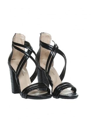 Black - High Heel - Shoes - Ayakkabı Havuzu