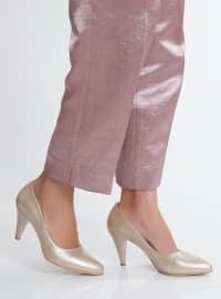 Topuklu Ayakkabı - Gold - Ayakkabı Havuzu