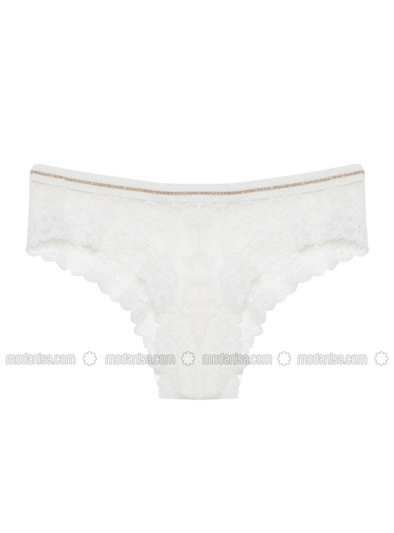 White - Panties