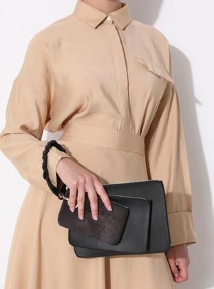 Black - Clutch - Bag