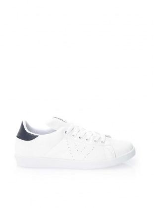STRASWANS Spor Ayakkabı - Beyaz Lacivert