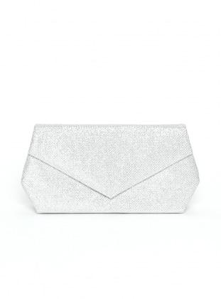 Silver tone - Clutch - Bag
