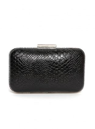 Black - Clutch - Satchel - Bag