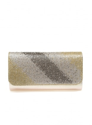 Gold - Clutch - Bag