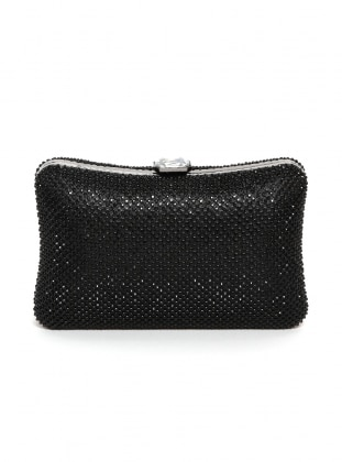 Black - Clutch - Bag