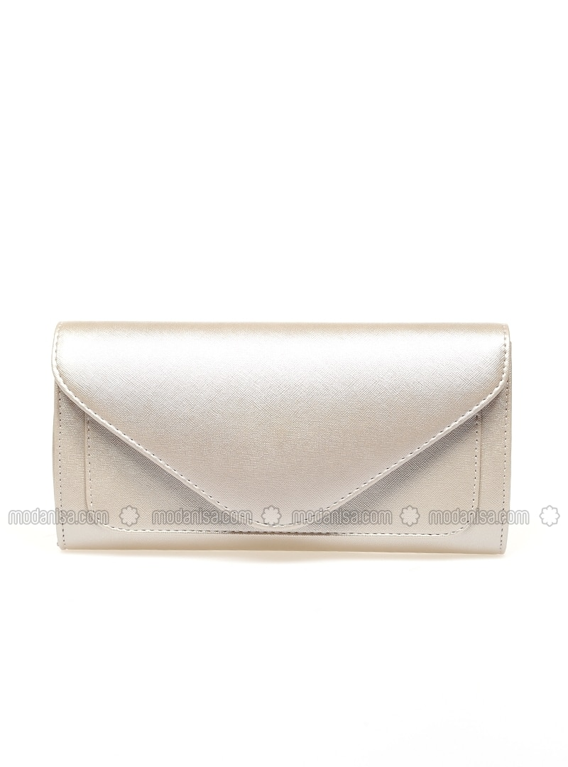 skilful manufacture harmonious colors complimentary shipping Gold - Clutch - Bag