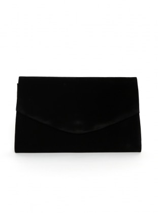 Black - Clutch - Bag - Varolli
