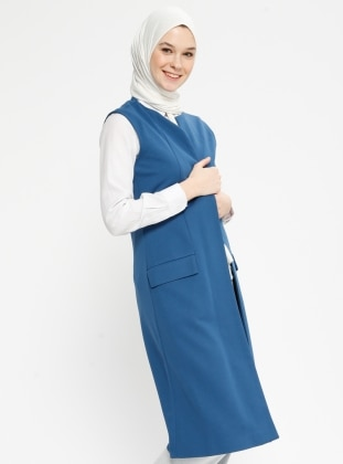 Blue - Fully Lined - Vest
