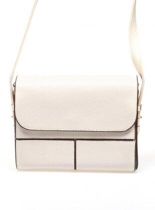 Beige - Satchel - Crossbody - Bag