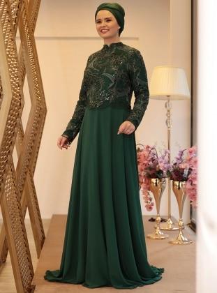 Muslim Plus Size Evening Dress Models Modanisa
