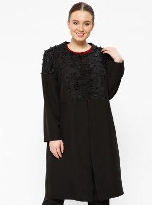 Black - Unlined - Plus Size Jacket