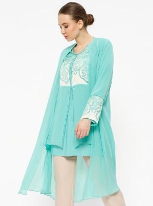 Mint Plus Size Suits Shop Womens Plus Size Suits Modanisa