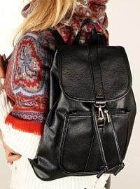 Black - Backpack - Bag - Luwwe
