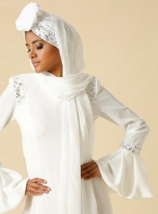 Chiffon Shawl - White