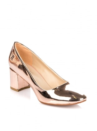 Pink - Gold - High Heel - Heels