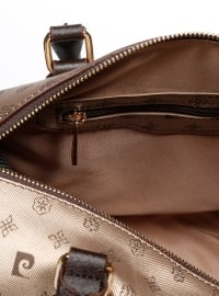 Gold - Satchel - Crossbody - Bag - Pierre Cardin