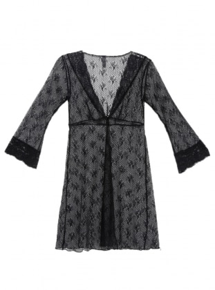Black - Morning Robe