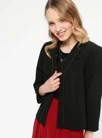 Klasik Ceket - Siyah - Koton