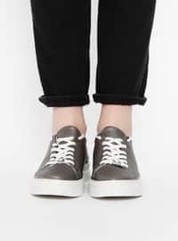 Gray - Sport - Casual - Sportswear
