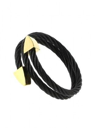 Black – Gold – Bracelet – Chiccy