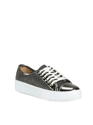 Ayakkabı - Platin Simli - ROVIGO