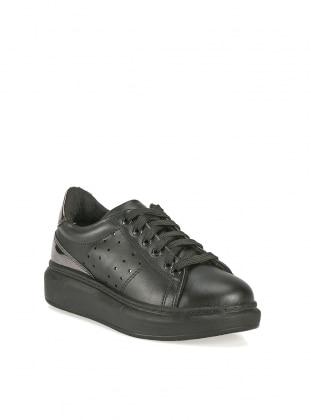 Ayakkabı - Siyah Dore İslemeli - ROVIGO Ürün Resmi