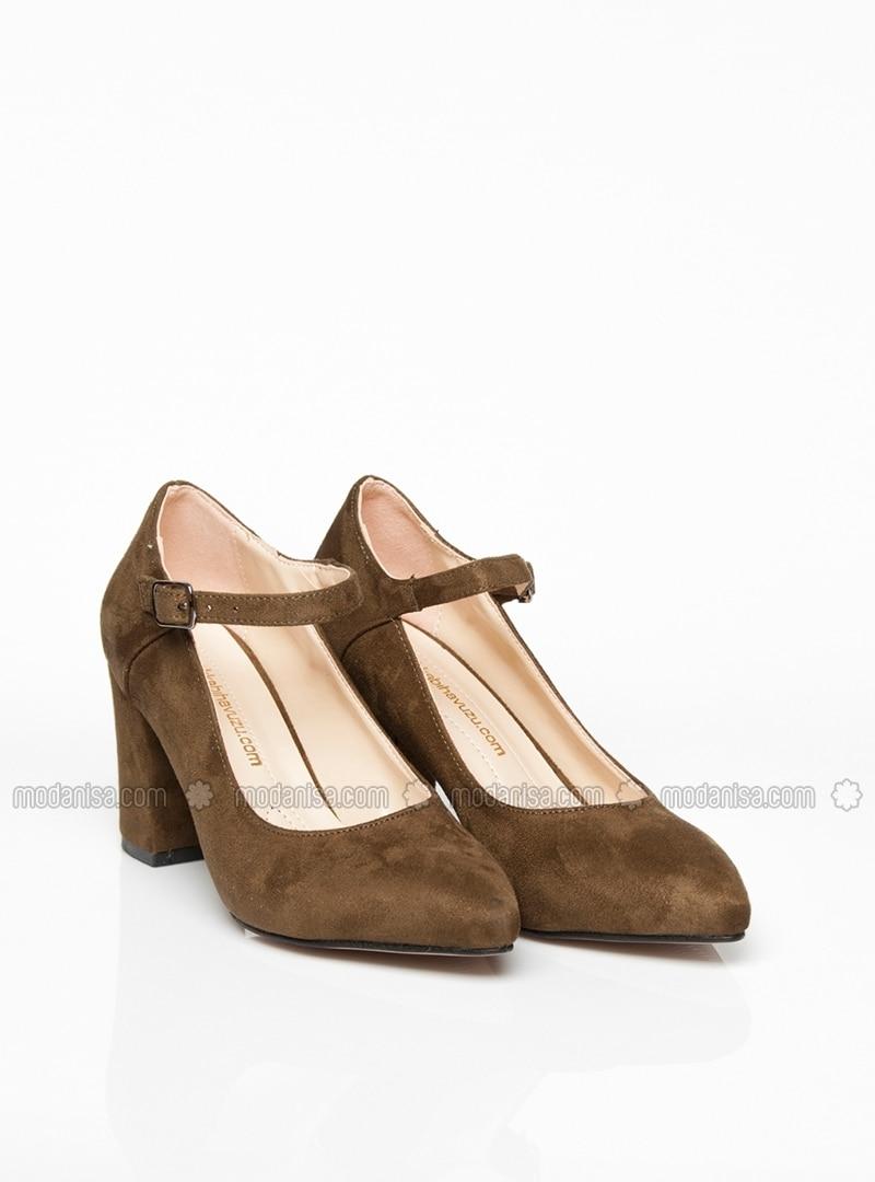 Green - High Heel - Shoes