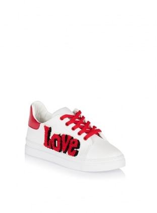Zenneshoes Ayakkabı - Love Kırmızı