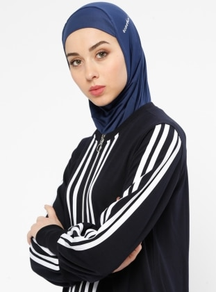 Navy Blue - Sports Bonnet