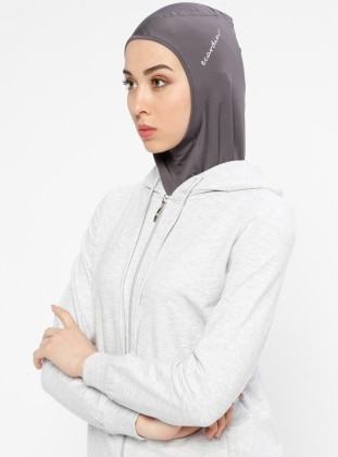 Gray - Sports Bonnet - Ecardin